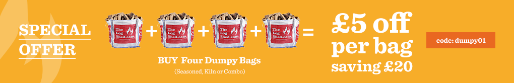 Buy any 4 Dumpy Bags and get £5 off each Bag