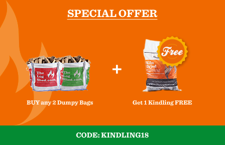 Buy any 2 Dumpy Bags get 1 Kindling for FREEs
