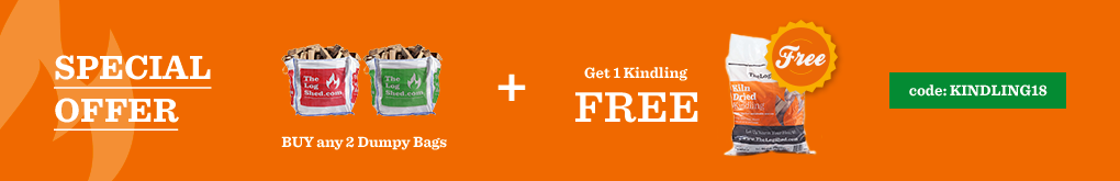 Buy any 2 Dumpy Bags get 1 Kindling for FREE