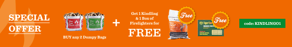 Buy any 2 Dumpy Bags get 1x Kindling & 1x Firelighters, use code kindling01