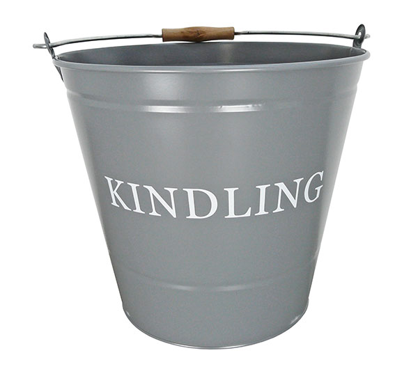 Kindling-Bucket-Grey